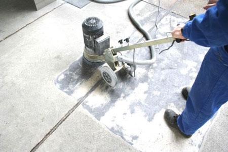 Broušení betonových podlah